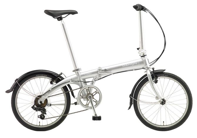 折りたたみ自転車 DAHON Vybe D7 ダホン 自転車 20インチ 折りたたみ自転車 外装7段変速ギア ダホン 折りたたみ自転車 DAHON ヴァイブ D7 2018年モデル Vybe-Mach Silver シルバー ギア付 通販 おしゃれ