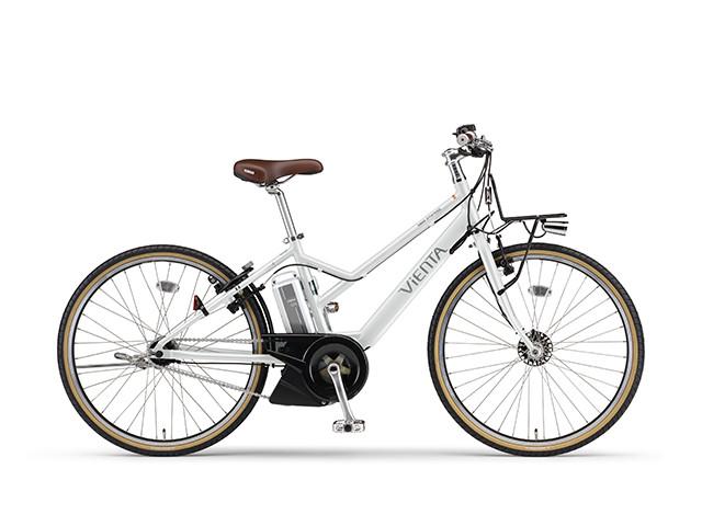 電動自転車 ヤマハ YAMAHA VIENTA5 電動アシスト自転車 電動ママチャリ 軽量 X0TW01-0450 シルキーホワイト ツヤ消しカラー 通販 おしゃれ