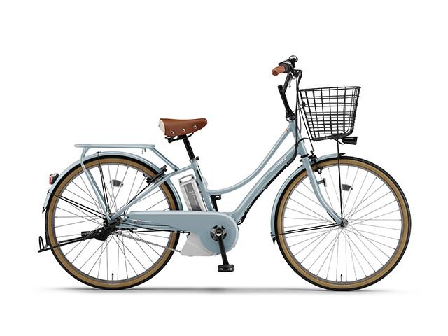 配送先一都三県一部地域限定送料無料 電動自転車 ヤマハ YAMAHA PAS ami パスアミ 26インチ 電動アシスト自転車 電動ママチャリ 2018年モデル 軽量 X1N601-020C シアンブルー 通販 おしゃれ