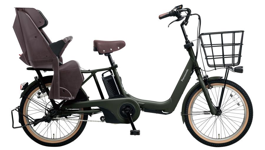 配送先一都三県限定 電動自転車 パナソニック Panasonic ギュット アニーズ DX 20インチ 電動アシスト自転車 2018年モデル BE-ELA03G マットディープグリーン 緑 激安 通販 おしゃれ 安い