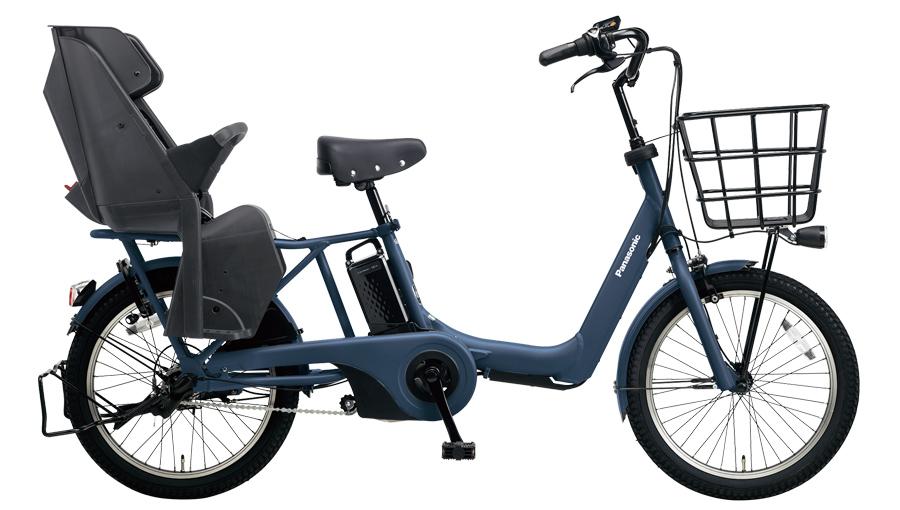 配送先一都三県限定 電動自転車 パナソニック Panasonic ギュット アニーズ DX 20インチ 電動アシスト自転車 2018年モデル BE-ELA03V マットネイビー 激安 通販 おしゃれ 安い