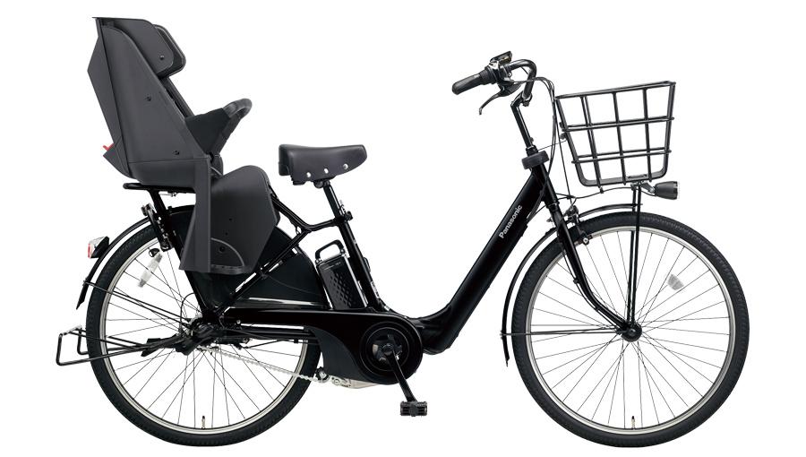 配送先一都三県一部地域限定送料無料 電動自転車 パナソニック Panasonic ギュット アニーズ F DX 26インチ 電動アシスト自転車 2018年モデル BE-ELA63B マットジェットブラック 通販 おしゃれ