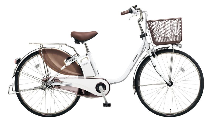 配送先一都三県一部地域限定送料無料 電動自転車 パナソニック Panasonic ビビ DX 24インチ 電動アシスト自転車 2018年モデル BE-ELD634F アクティブホワイト 白 通販 おしゃれ