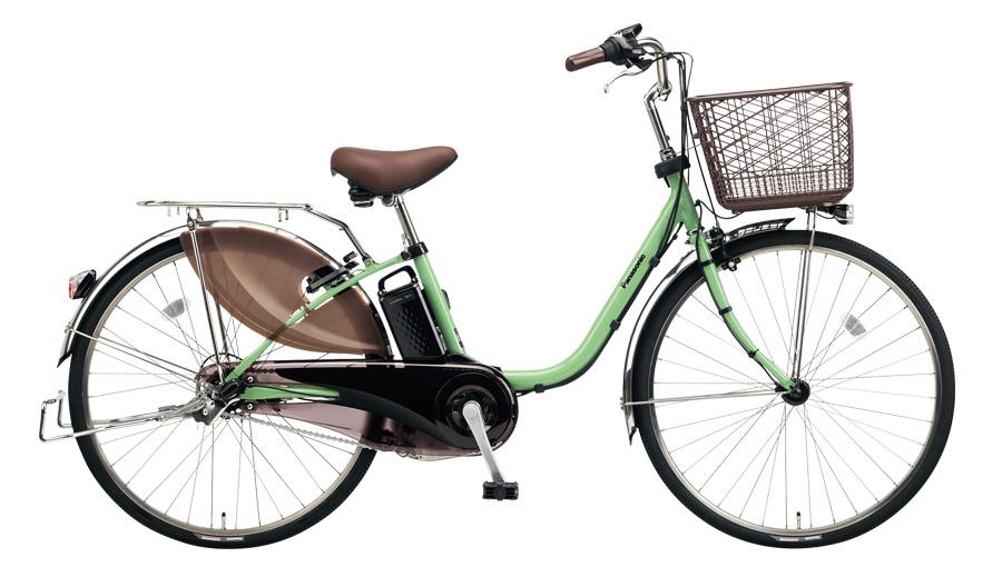 配送先一都三県一部地域限定送料無料 電動自転車 パナソニック Panasonic ビビ DX 24インチ 電動アシスト自転車 2018年モデル BE-ELD434G2 アップルグリーン 緑 通販 おしゃれ