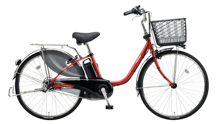 電動自転車 パナソニック Panasonic ビビ DX 26インチ 電動アシスト自転車 2018年モデル BE-ELD634R パールクリアレッド 赤 通販 おしゃれ