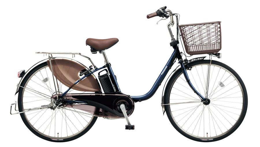 配送先一都三県限定 電動自転車 パナソニック Panasonic ビビ DX 24インチ 電動アシスト自転車 2018年モデル BE-ELD634V USブルー 青 激安 通販 おしゃれ 安い