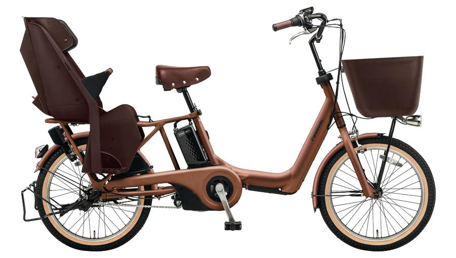 配送先一都三県限定 電動自転車 パナソニック Panasonic ギュット アニーズ KE 20インチ 電動アシスト自転車 2018年モデル 激安 格安 BE-ELKE03T マットフォースブラウン 通販 おしゃれ
