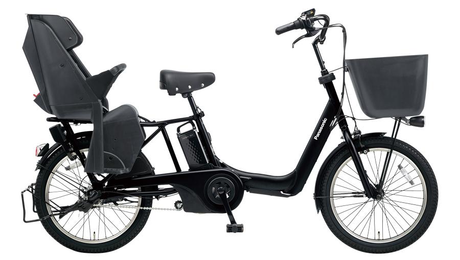 配送先一都三県限定 電動自転車 パナソニック Panasonic ギュット アニーズ KD 20インチ 電動アシスト自転車 2018年モデル 激安 格安 BE-ELMK03B マットジェットブラック 通販 おしゃれ