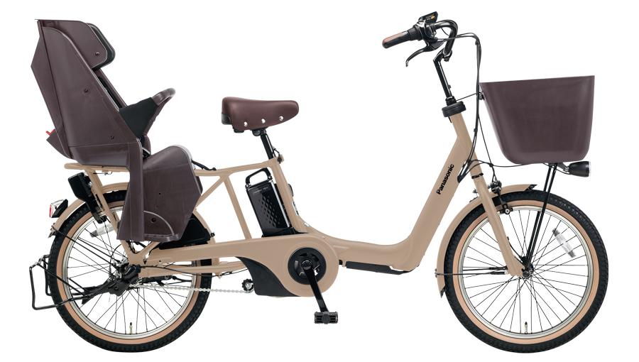 配送先一都三県限定 電動自転車 パナソニック Panasonic ギュット アニーズ KD 20インチ 電動アシスト自転車 2018年モデル 激安 格安 BE-ELMK03T マットマロンベージュ 通販 おしゃれ