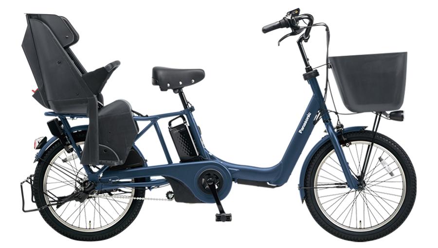 配送先一都三県限定 電動自転車 パナソニック Panasonic ギュット アニーズ KD 20インチ 電動アシスト自転車 2018年モデル 激安 格安 BE-ELMK03V マットネイビー 通販 おしゃれ