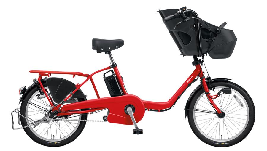 配送先一都三県限定 電動自転車 パナソニック Panasonic ギュット ミニ DX 20インチ 電動アシスト自転車 2018年モデル 激安 格安 BE-ELMD034R2 ロイヤルレッド 赤 通販 おしゃれ