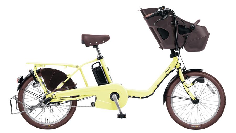 配送先一都三県一部地域限定送料無料 電動自転車 パナソニック Panasonic ギュット ミニ DX 20インチ 電動アシスト自転車 2018年モデル BE-ELMD034Y パウダーイエロー 通販 おしゃれ