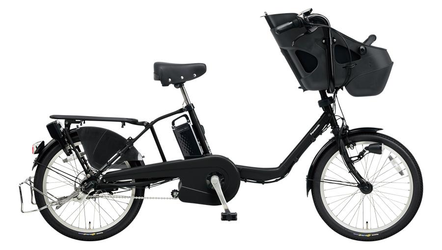配送先一都三県一部地域限定送料無料 電動自転車 パナソニック Panasonic ギュット ミニ KD 20インチ 電動アシスト自転車 2018年モデル BE-ELM032B マットブラック 通販 おしゃれ