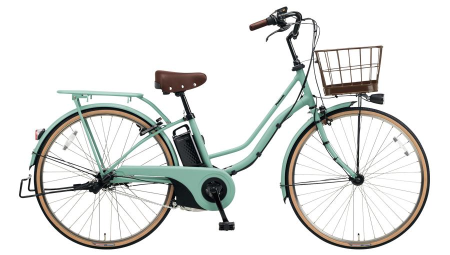 配送先一都三県一部地域限定送料無料 電動自転車 パナソニック Panasonic ティモ I 26インチ 電動アシスト自転車 2018年モデル BE-ELTA63G マットミスティグリーン 通販 おしゃれ