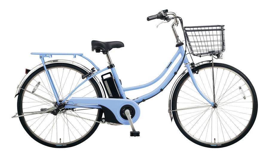 配送先一都三県限定 電動自転車 パナソニック Panasonic ティモ W 26インチ 電動アシスト自転車 2018年モデル 激安 格安 BE-ELWD632V ペールブルー 通販 おしゃれ