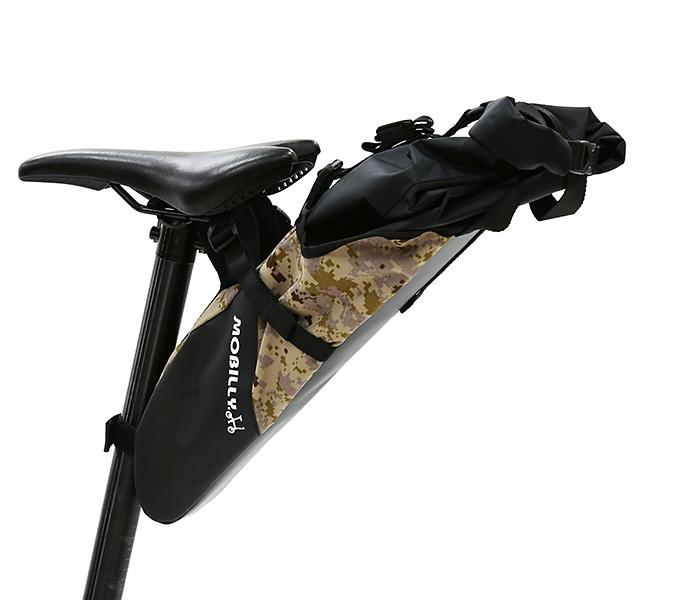 Veloline MOBILLY 大容量スマートサドルバッグ 自転車 カバン サドルバッグ 迷彩 グリーン 自転車 パーツ 部品 通販 おしゃれ
