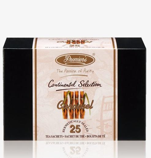 インド紅茶の素晴らしさを伝える プリミアスティーをティーバッグでお手軽に 甘く香ばしいキャラメルの香りがアッサムティーとよく合い ミルクティーにおすすめです ギフト用に プリミアスティー コンチネンタルセレクション キャラメルティー25枚入り 送料無料 紅茶 茶葉 インド おうち 誕生日 ギフト お手軽 プレゼント ティーバッグ 記念日 お祝い 敬老の日 オーバーのアイテム取扱☆ お返し 優先配送 高級 お礼