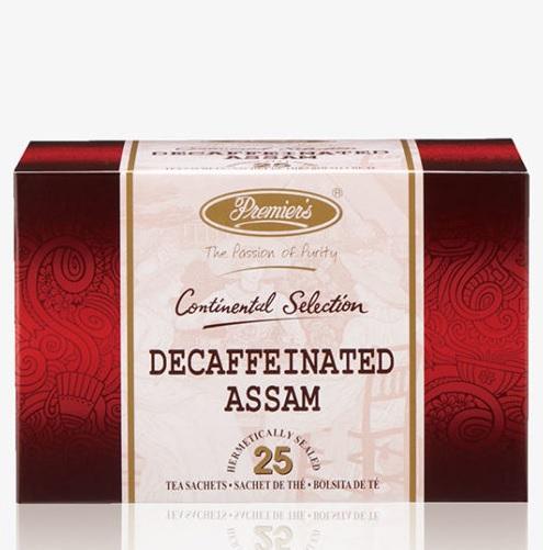 インド紅茶の素晴らしさを伝える 在庫一掃売り切りセール プリミアスティーをティーバッグでお手軽に プリミアスティー コンチネンタルセレクション デカフェ アッサム25枚入り 送料無料 正規認証品 新規格 紅茶 茶葉 インド 高級 おうち 記念日 敬老の日 ギフト 誕生日 プレゼント ティーバッグ お手軽 お礼 カフェイン除去 お祝い お返し
