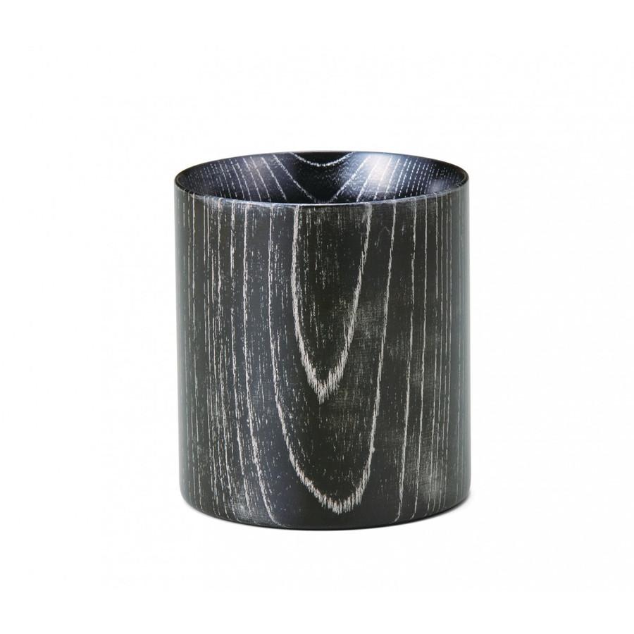 欅MugCup ブラック/プラチナ けやきマグカップ 日本製 カップ 食器 山中塗 嘉匠菴
