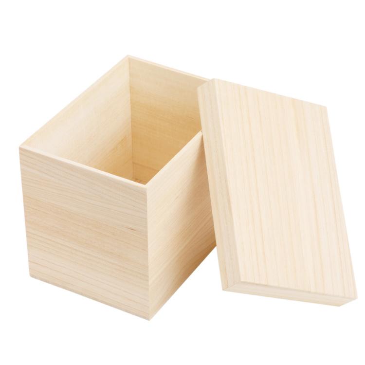 かぶせ蓋の天然桐箱 贈答品用総桐箱 贈答用に使える木のケース 木箱 御朱印帳入れ 食パン1斤サイズ 外寸約15.5×21.5×17.5cm 買収 桐箱 収納箱 かぶせ蓋 ピッタリ 保管箱 直営ストア