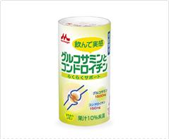 [らくらくサポート]グルコサミンとコンドロイチン125mlx18個入り 森永乳業 北海道・四国・九州・沖縄・離島は別途追加送料が必要上記以外は送料無料です。