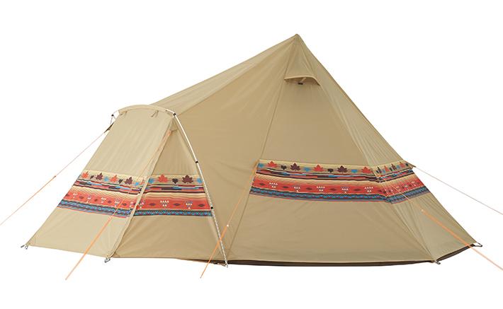 ロゴス LOGOS ティピ テント ティピーテント ナバホEX Tepeeリビング400-AI 71806520 4981325528270 送料無料
