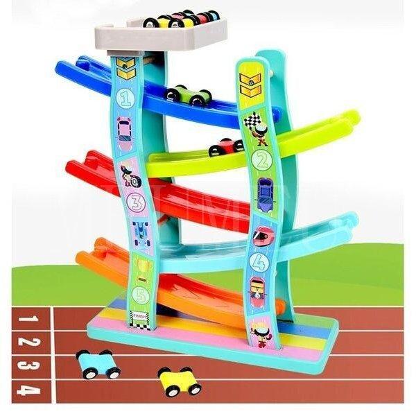知育玩具 おもちゃ NEW ARRIVAL 1歳 2歳 3歳 4歳 誕生日プレゼント 男の子 スロープ 女の子 車 おうち時間 予約販売品 木のおもちゃ ギフト
