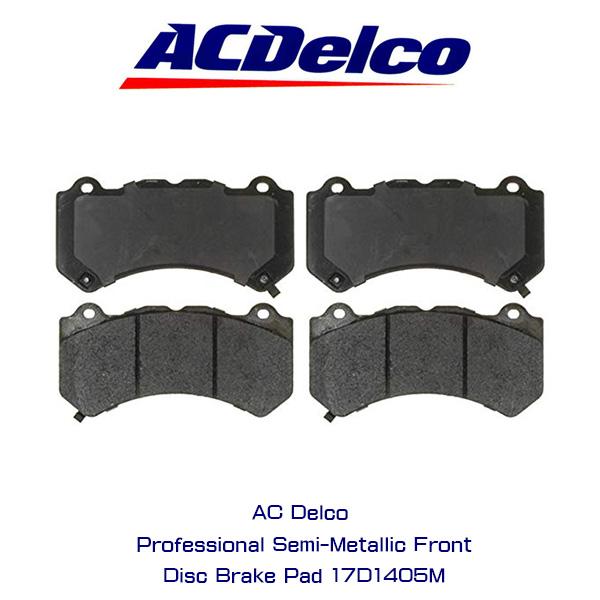 AC Delco ブレーキパッド 17D1405M/シボレー/カマロ/コルベット/キャデラック/CTS