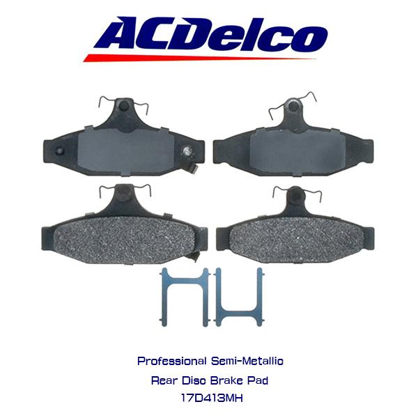 AC Delco ブレーキパッド 17D413MH シボレー カマロ コルベット トランザム