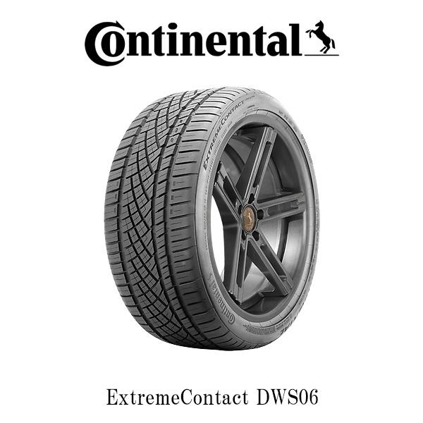 【285/30ZR22】Continental Tire・ExtremeContactDWS06・コンチネンタルタイヤ エクストリーム・コンタクト DWS06 22インチ