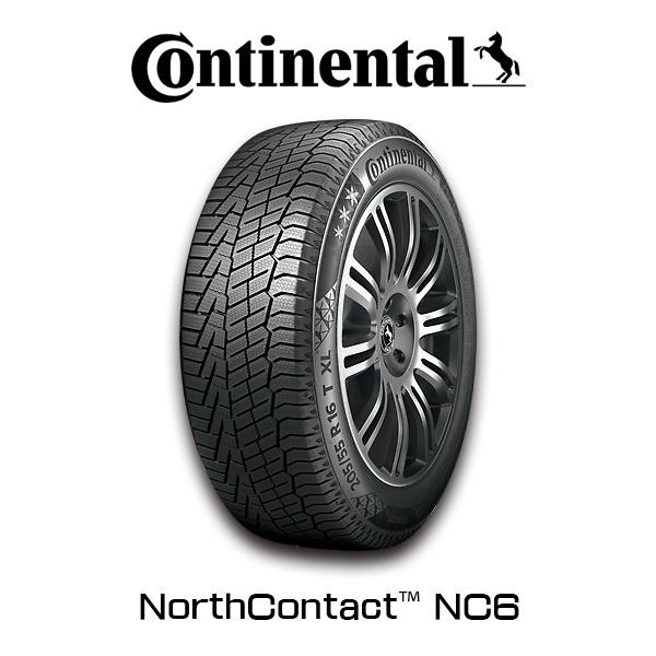 静かで快適なウインタードライビングを実現 4本セット送料無料 Continental NorthContact NC6 225 60R17 Winter セール開催中最短即日発送 SK9系フォレスター スタッドレスタイヤ コンチネンタル 30系アルファード Tire 4本セット ヴェルファイア 新登場
