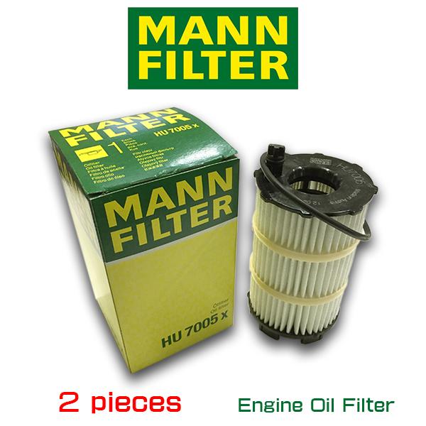 【お買い得2個セット】MANN FILTER マンフィルター HU7005X フォルクスワーゲン トゥアレグ アウディ A4 A6 A8 Q7 S5 S6 S8 R8 RS4 RS6 /AOPOF087