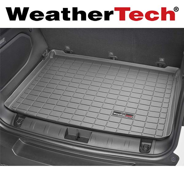 車種専用設計ジャストフィットのカーゴマット WeatherTech ウェザーテック 買物 カーゴライナー アウトレット JEEP ブラック 2015年~ ジープ レネゲード ラゲッジマット