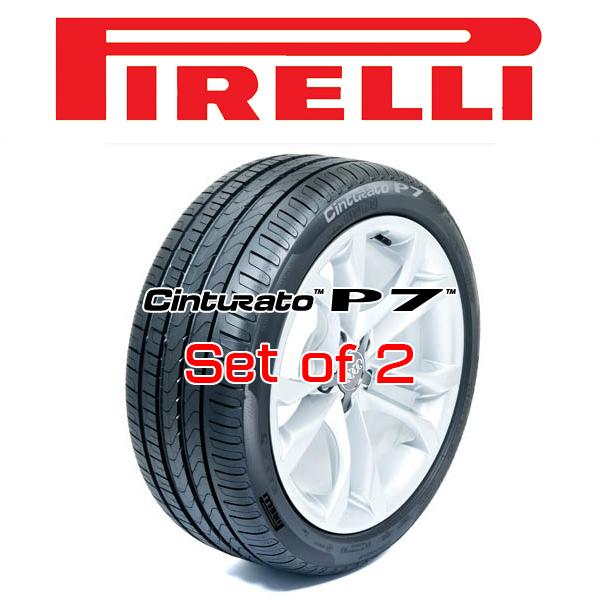 【235/45R17・2本セット】PIRELLI Tire・CINTURATO™ P7™・ピレリタイヤ チンチュラートピーセブン 17インチ
