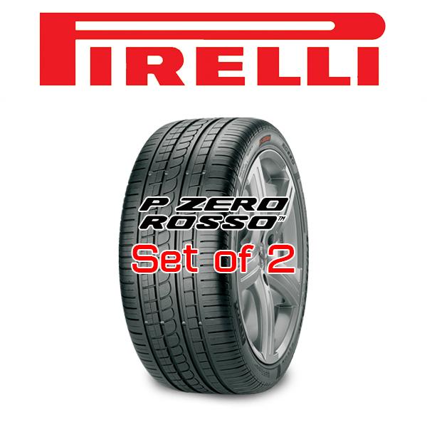 【255/40R19・2本セット】PIRELLI Tire・P ZERO ROSSO™・ピレリタイヤ ピーゼロ ロッソ 19インチ アメ車 対応サイズ
