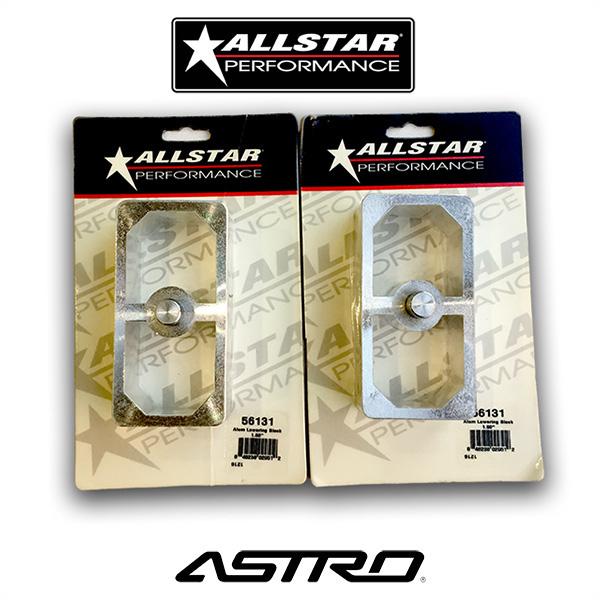 Allstar Performance Lowering Blocks 56131 2個セット ローダウンブロック シボレー アメ車