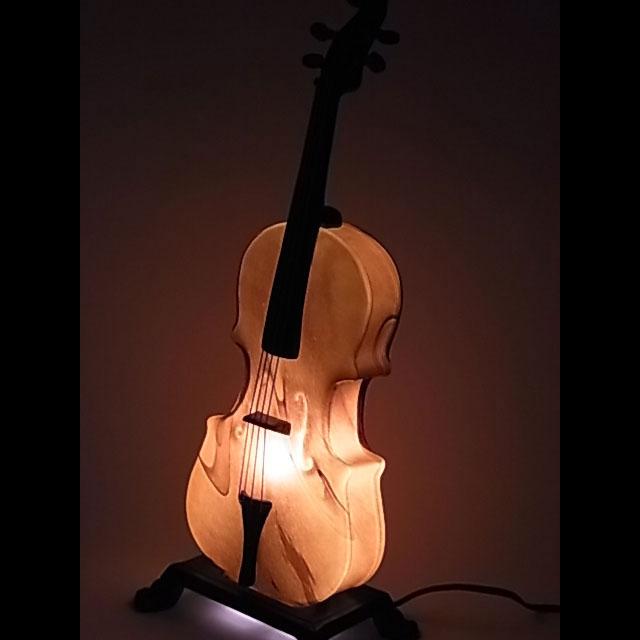 『インテリアランプ』バイオリンランプ(9031C/495E1)【即納】【送料無料】 楽器 バイオリン インテリア オシャレ