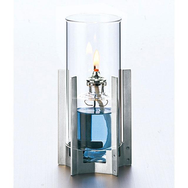 『オイルランプ』ルナックスオイルランプ スタイリッシュ・メタル「Pentagram」/クリアタイプ(OL-81-155C)【即納】