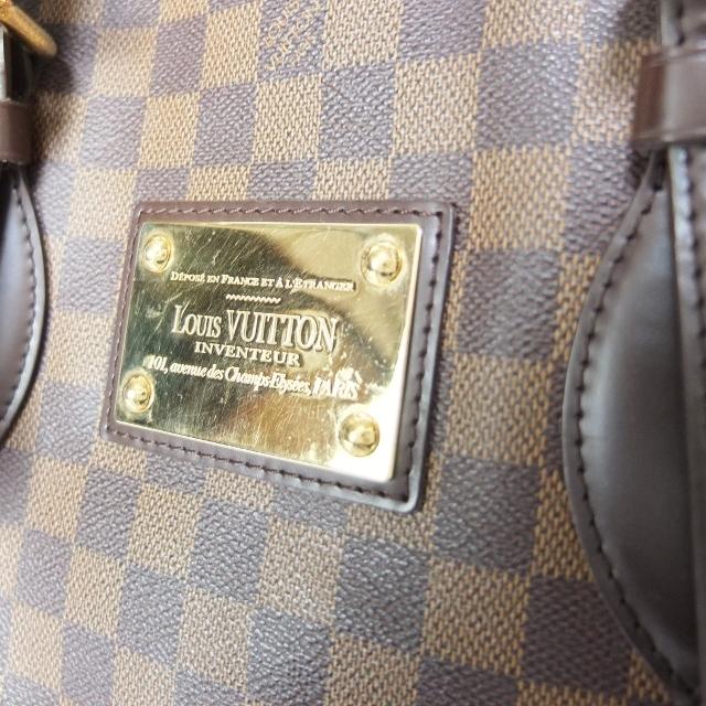 ルイ ヴィトン LOUIS VUITTON ハムプステッドMM N51204 ダミエ エベヌ レディース トートバッグhdCBtsQxr