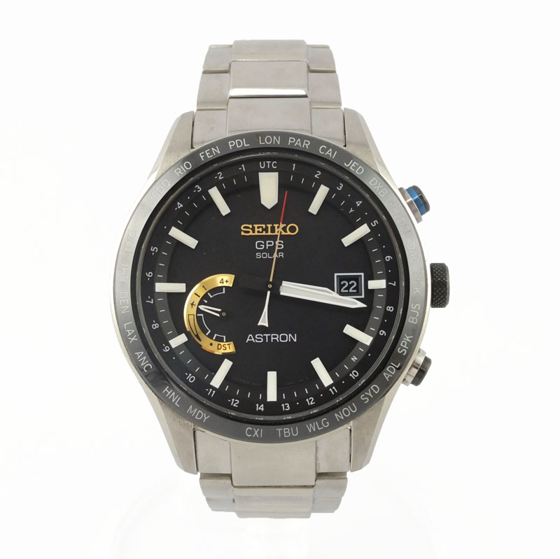 セイコー SEIKO アストロン SBXB119 8X22-0AJ0 大谷翔平モデル 3000本限定 ソーラーGPS メンズ腕時計 SS【中古】
