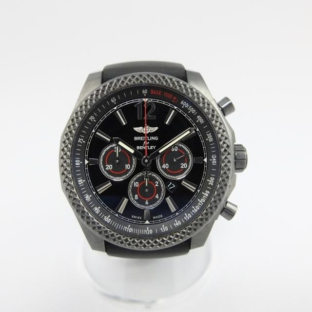 ブライトリング BREITLING ベントレー バーナート42 ミッドナイトカーボン リミテッド M41390 メンズ 腕時計 【中古】