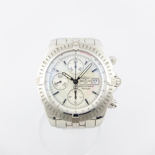 ブライトリング BREITLING クロノマット エボリューション A13356 自動巻 メンズ 腕時計 シェル文字盤 【中古】