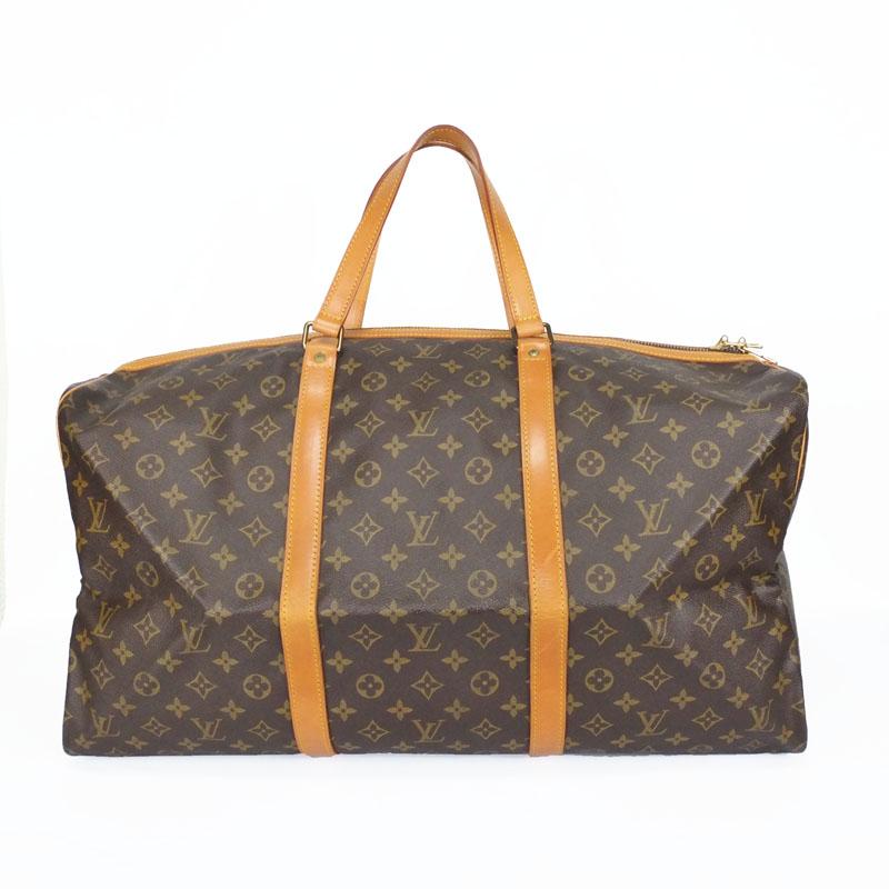 ルイ ヴィトン LOUIS VUITTON サックスープル55 M41622 ボストンバッグ 旅行バッグ モノグラム 【中古】