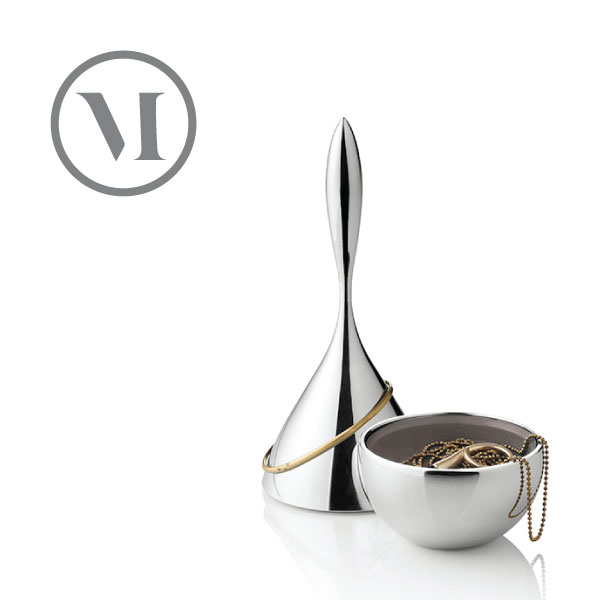 【送料無料】メニュー/menu MENU ジュエリーフラコン アクセサリー、小物入れ φ70mm ジュエリースタンド ネックレスや指輪、小物などもおしゃれに魅せるジュエリーフラコンポイント最大24倍