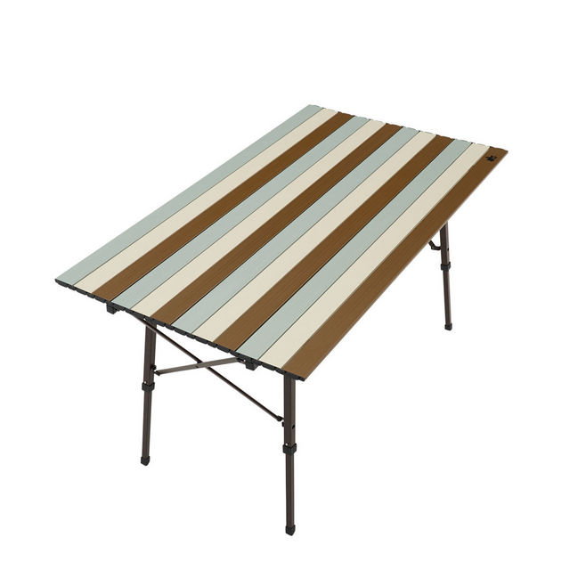ロゴス/LOGOS LOGOS Life オートレッグテーブル 12070(ヴィンテージ)フレームをひろげるだけの簡単組立て ひろびろ使えるテーブル 脚部が自動で開くオートレッグシステム採用
