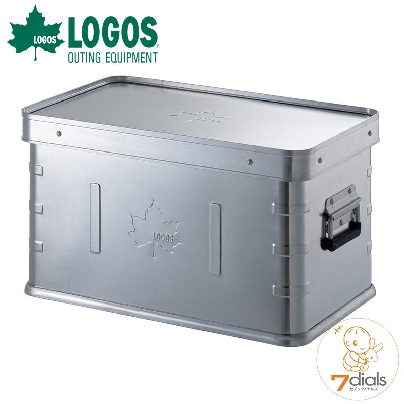 コンテナボックス キャンプ時の収納ボックス スタッキング可能 蓋つき アルミ製で耐荷重約110kgで頑丈 商品 テーブルとしても使用可能 引出物 あす楽 LOGOS ロゴス 頑丈 蓋つきでテーブルにもなる アルミ製コンテナボックス 蓋付 耐荷重約110kg スタックコンテナ30 2021 送料無料