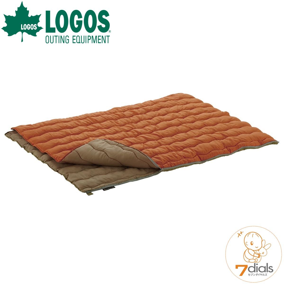 【あす楽】LOGOS/ロゴス 2in1・Wサイズ丸洗い寝袋・2 シュラフ 連結してお子さまと添い寝が出来る2個セット【送料無料】