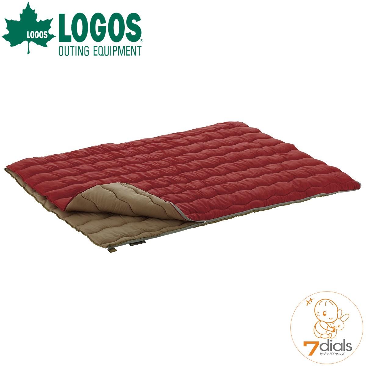 LOGOS/ロゴス 2in1・Wサイズ丸洗い寝袋・0 シュラフ 連結してお子さまとも添い寝ができる2個セット【あす楽】【送料無料】