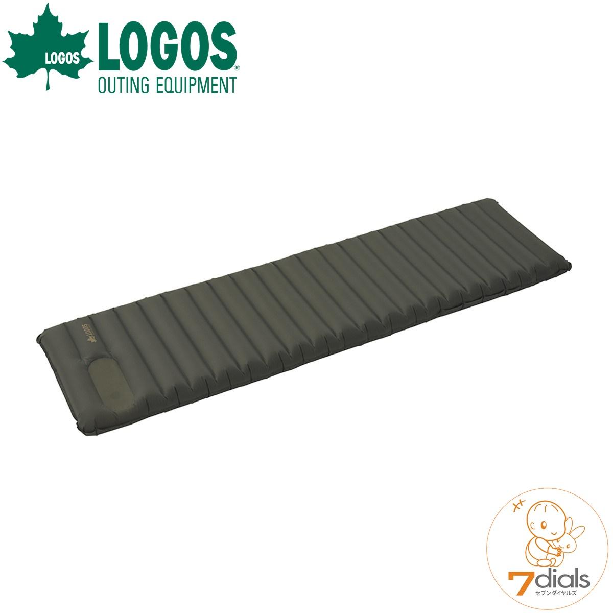 LOGOS/ロゴス エアライトマット(ポンプ内蔵)マット内にポンプが内蔵されているので、足で踏んで空気を入れるだけ【送料無料】