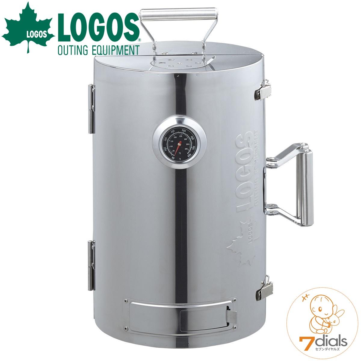 LOGOS/ロゴス LOGOSの森林 スモークタワー 燻製器 熱源がなくても燻製料理ができるスモークタワー もちろんバーナーを使った熱薫も楽しめます【送料無料】